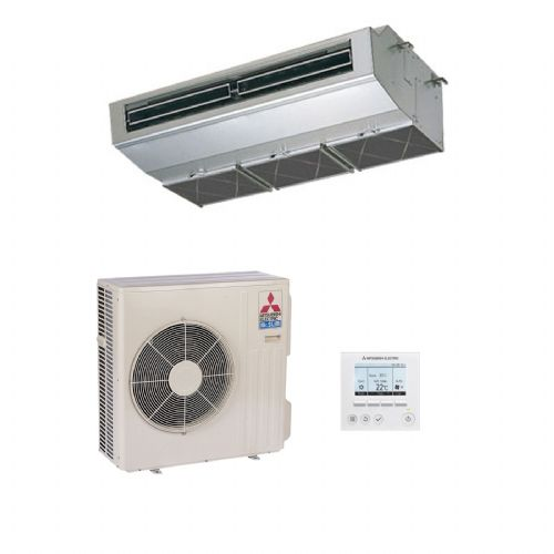 Mitsubishi Electric Air Conditioning PCA-RP71HA Stainless Steel Kitchen Ceiling Mounted (7kW / 24000) 240V/415V~50Hz